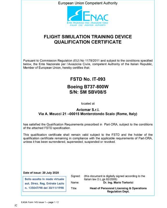 Boeing 737 #4 EASA ID IT-093 Specs_1